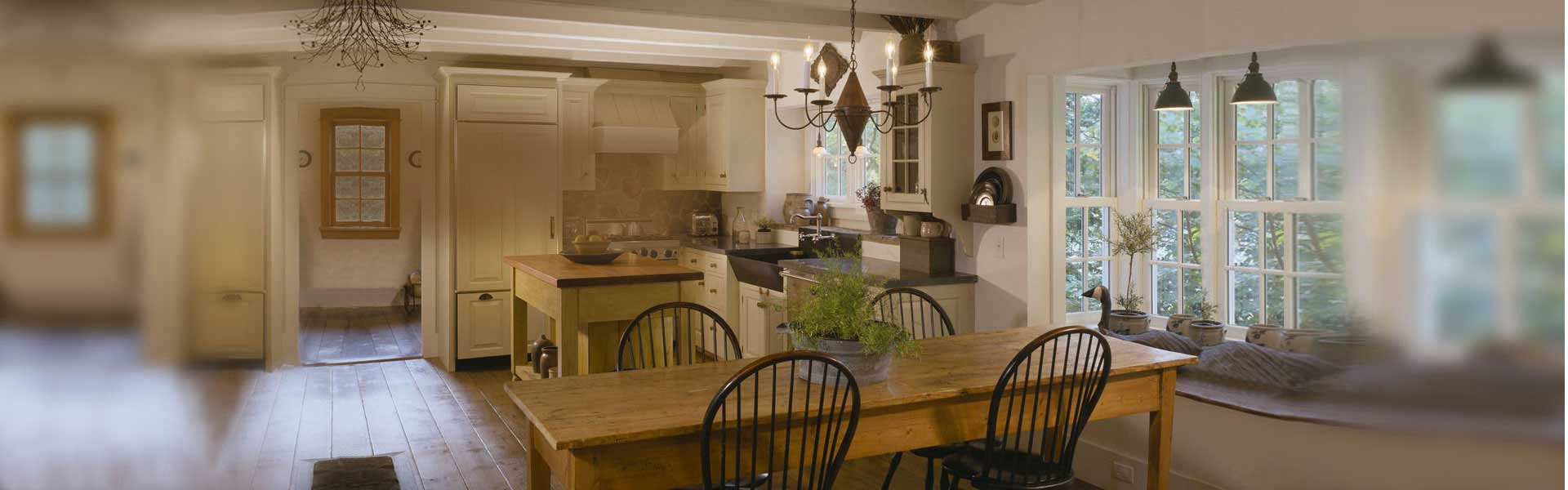 Kitchens by Houses and Barns by John Libby