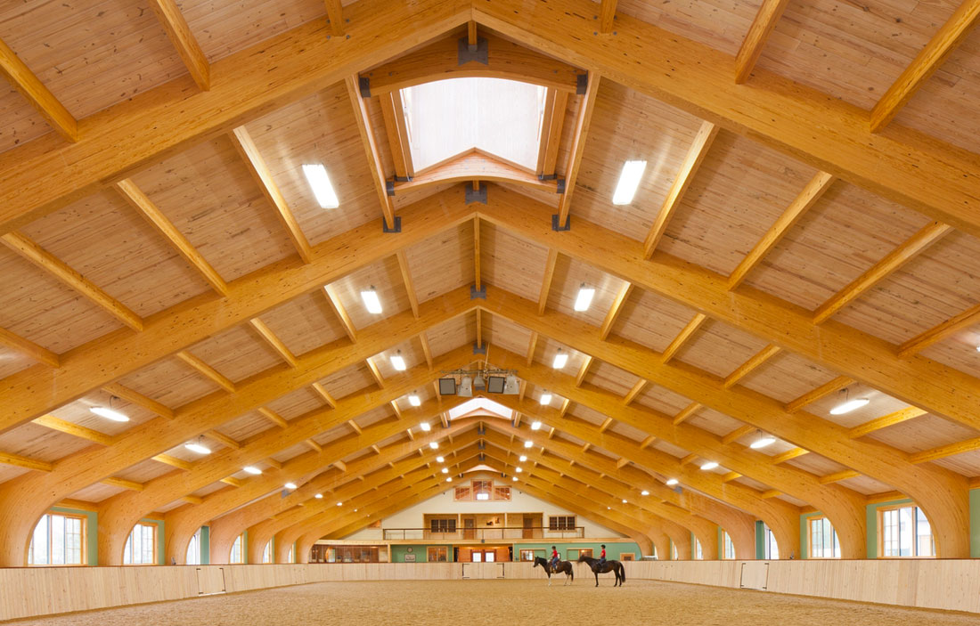 Houses and Barns   Equestrian Riding Center in Maine