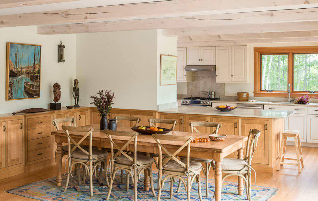 Houses and Barns | Kitchen design and construction - Houses ...
