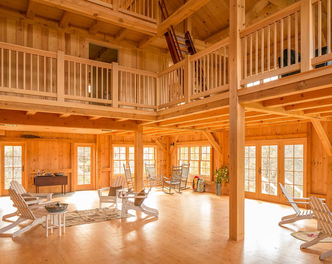 Houses And Barns Midcoast Maine Post And Beam Barn