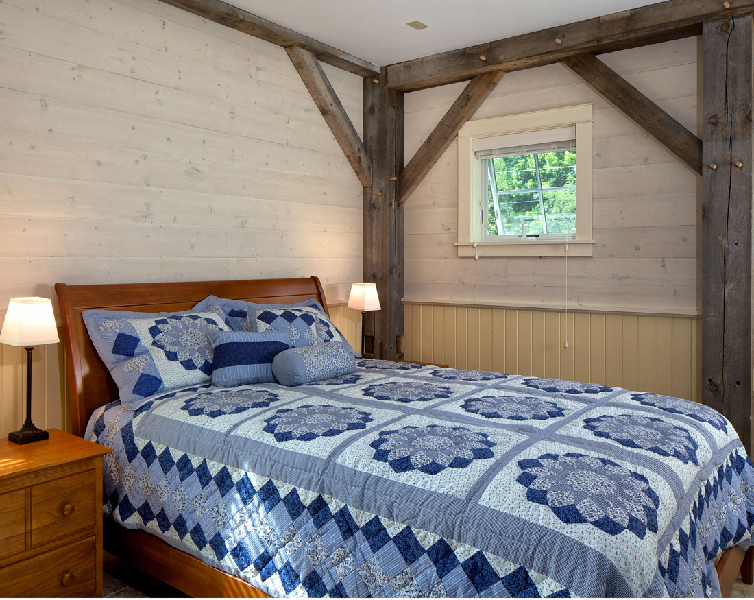 Houses And Barns Timber Frame Guest House
