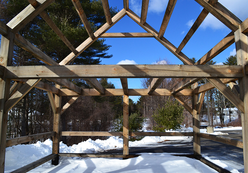 display timber frames for sale