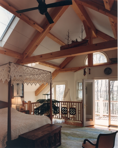 Houses and barns post and beam classic home for Post and beam construction