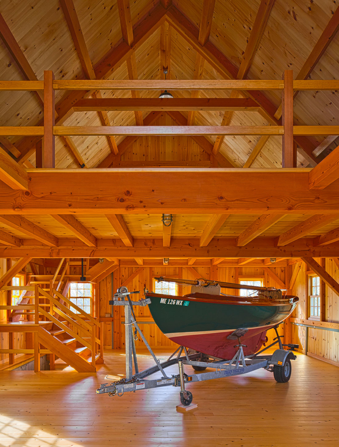 Houses And Barns Signature Series Winslow Timber Frame Barn