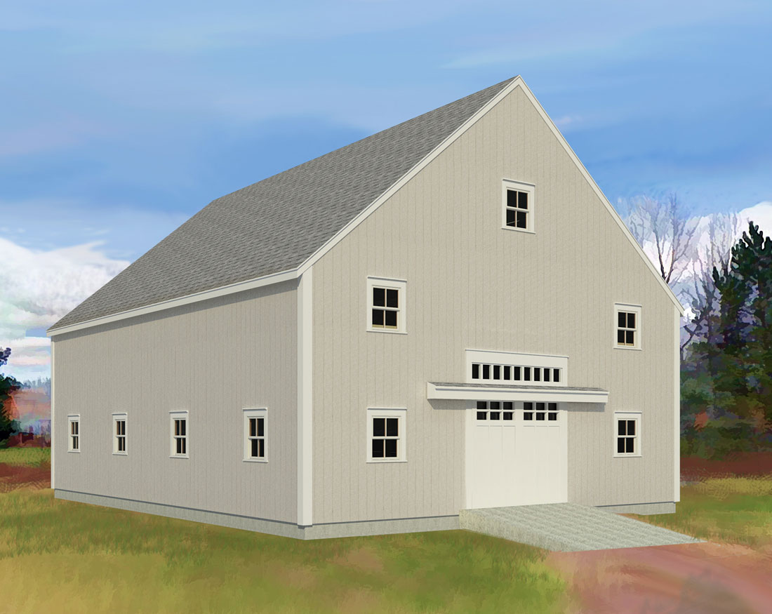 Houses and Barns | Bradbury Timber Frame - Houses and Barns
