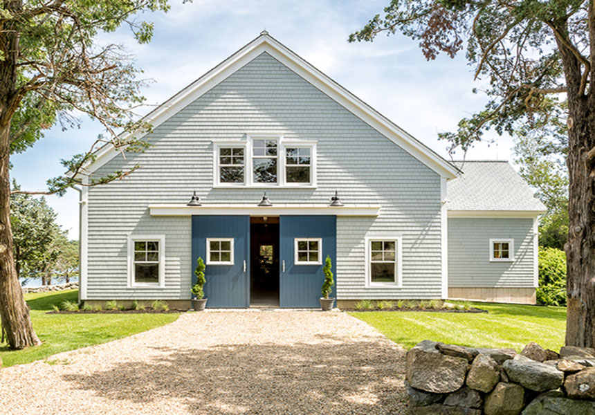 Queen Post Timber Frame Barn