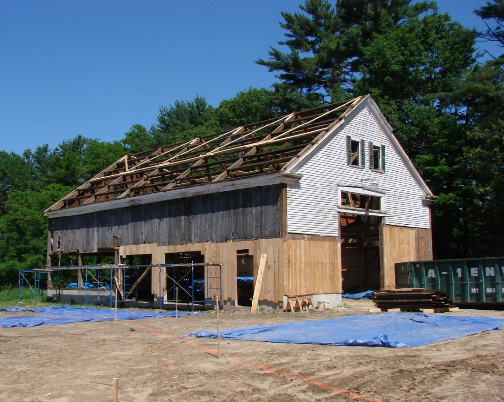 Houses And Barns 1800s Timber Frame Barn Renovation
