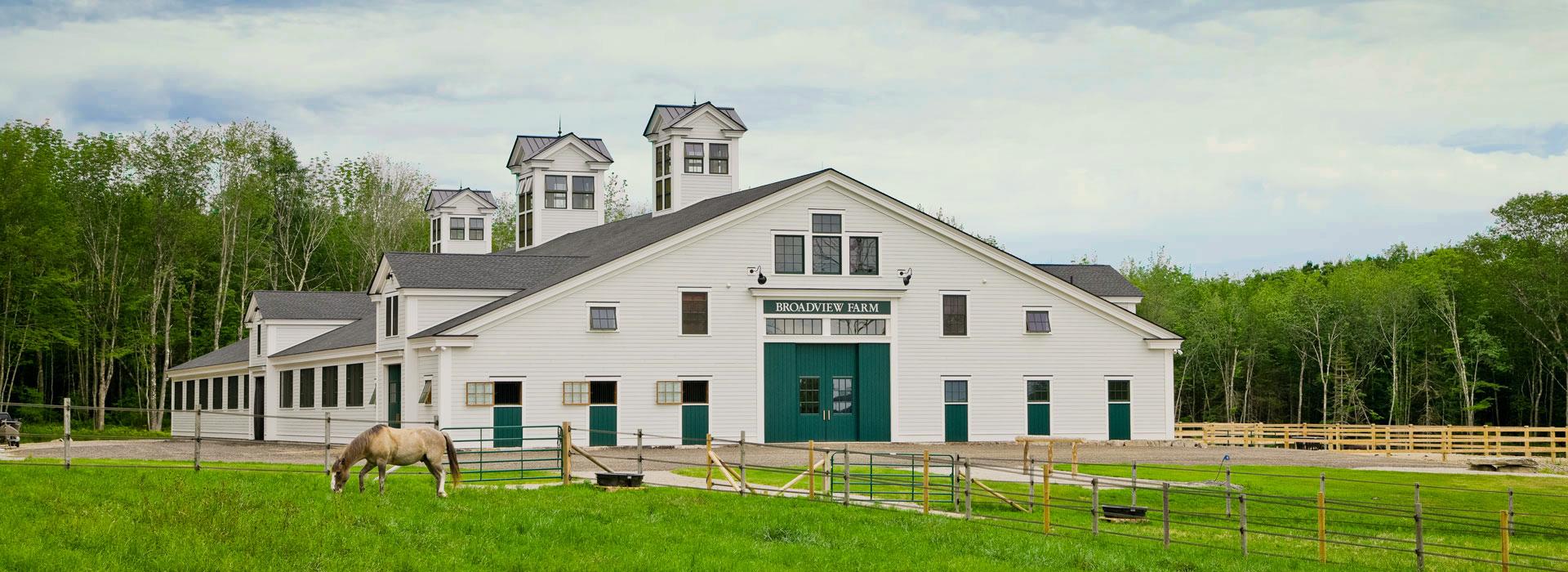 Barns by Houses & Barns by John Libby