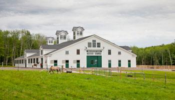 Broadview Farm outside