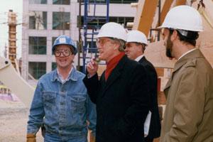 John Libby meeting with Governor Angus King