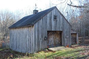 The Simpson barn, Freeport 1977