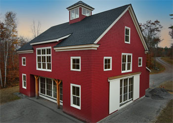 A new take on a classic barn